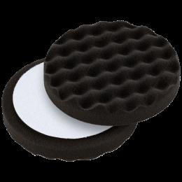 Waffle pad black soft 150 mm