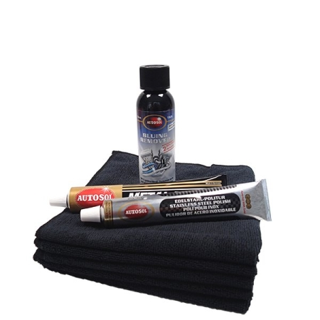 Stainless Steel Exhaust Polish Set