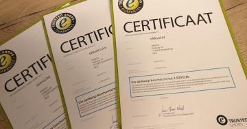 Trusted Shops certified