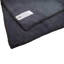 Microfibre cloth Soft 40 x 40 cm black (5 pieces)