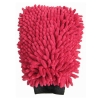 Washing Glove Microfibre Rasta Red