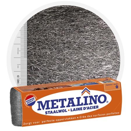 Metalino Steel Wool 0 MEDIUM FINE