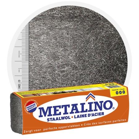 Metalino Steel Wool 000 EXTRA FINE