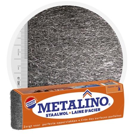Metalino Steel Wool 2 MEDIUM COARSE