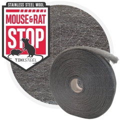 Mouse & Rat STOP Steel Wool - roll 5kg