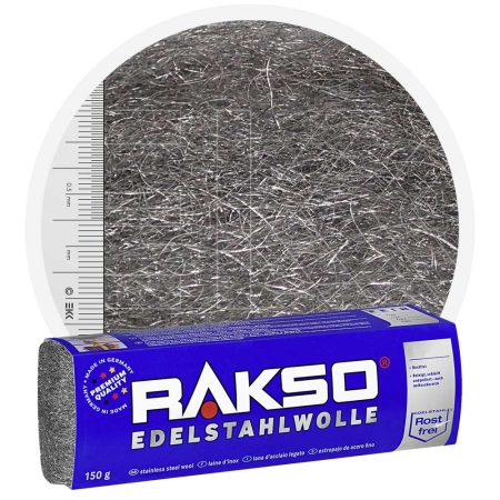 Stainless Steel Wool MEDIUM 150 gr