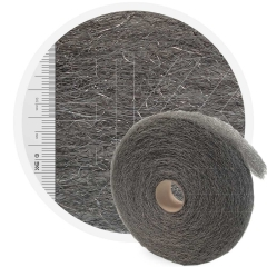 Stainless Steelwool COARSE - roll 5 kg