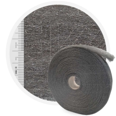 Stainless Steelwool MEDIUM - roll 5 kg