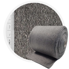 Stainless Steel Wool 434 crossed 400 mm - 70 μm, ± 1200 gr/m2