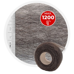 Stainless steel Damper wool HT - roll 1kg