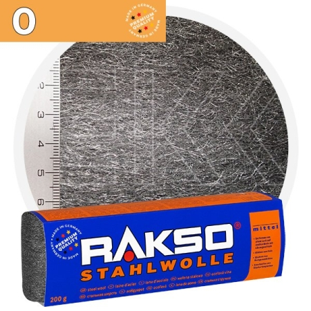 Rakso Steel Wool 0 MIDDLE