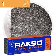 Rakso Steel Wool 1 MIDDLE