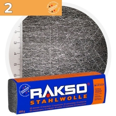 Rakso Steel Wool 2 MIDDLE