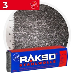 Rakso Steel Wool 3 COARSE